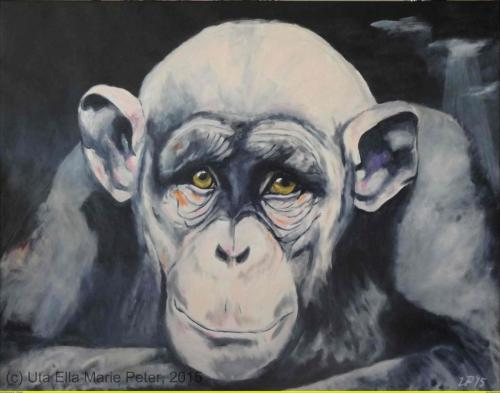 Eugen -  Acryl auf Leinwand - 2015 - 140 x 110 cm